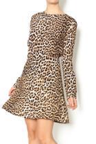 Printed Leopard Dress