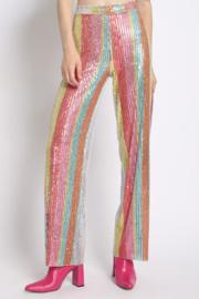 Stripe Sequin Pant