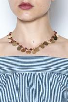 Gold Cassandra Necklace