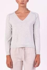 Piping Vneck Sweater