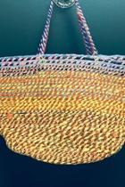 Woven Bucket Handbag