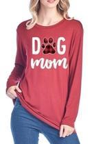 Dog Mom Long-sleeve-tee