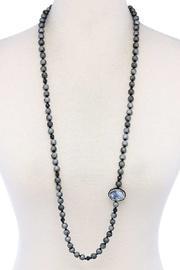 Beaded & Stone Necklace