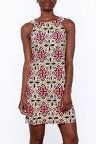 Kaleidoscope Sleeveless Sheath Dress