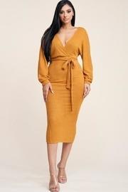Sexy Rib Knit Dress