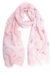 Glitter Flamingo Scarf