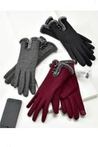 Faux-fur Lined Gloves