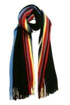 Multi-color Stripe Scarf