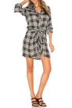 Flannel Patterned Dress
