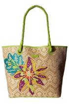 Natural Straw Beach-tote