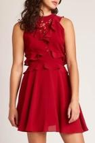 Crazy-in-love Dress, Rouge