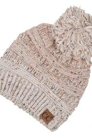 Ombre Ribbed Hat