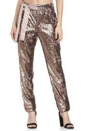 Sequin Bow Waist Pant