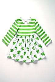 Clover Print Dress