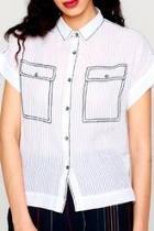 Embroidered Pocket Shirt