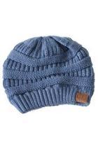 Denim Knit Beanie