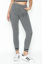 Gingham Joggers