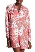 Blush Palm Tunic Dress
