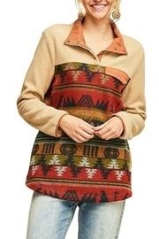 Tribal Fleece Sweater