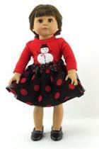 Doll Snowman Dress
