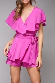 Pink Wrap Playsuit