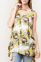 Sunflower Swing Tunic