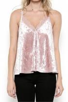 Velvet Lace Top