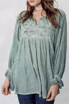 Bohemian Embroidered Tunic