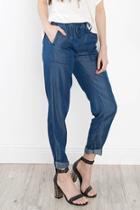 Tencel Drawstring Pants