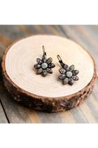 Cafe Flower Earrings