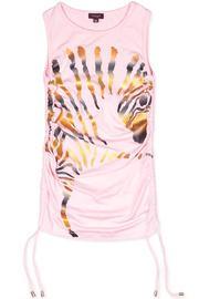 Metallic Zebra Dress