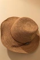 Straw Crochet Hat