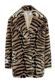 Tiger Faux-fur Coat