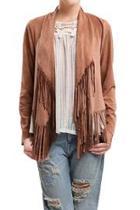 Amber Fringe Jacket