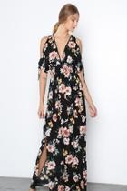 Fashion Printed Maxi-dress