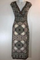 Vneck Sheath Dress