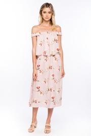 Offshoulder Floral Dress