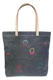 Embroidered Folks Tote