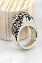 Silver Rock Ring