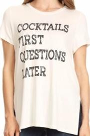 Cocktails Graphic Tee