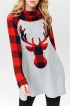 Plaid Reindeer Shirt