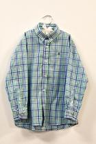 Pinwheel Plaid Shirt