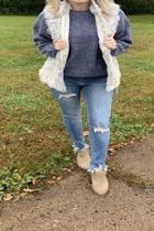 Faux Furry Vest