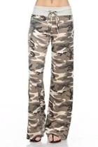 Camouflage Wide Pants