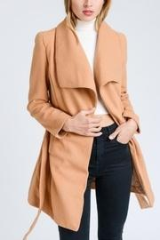 Camel Collar Coat
