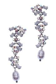 Plankova Rhinestone Earrings