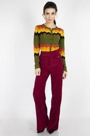 1970's Wide-leg Corduroy-pants