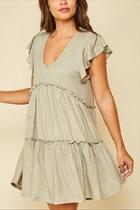 Dark Olive Dress