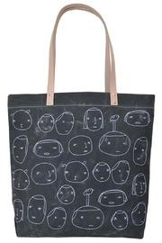 Embroidered People Tote