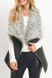 Flyaway Faux-fur Vest